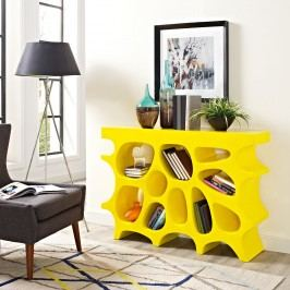 Wander Small Console Table in Yellow
