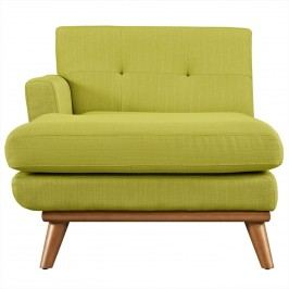 Engage Left-Arm Chaise in Wheatgrass