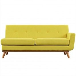Engage Right-Arm Loveseat in Sunny