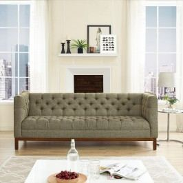 Panache Fabric Sofa in Oatmeal