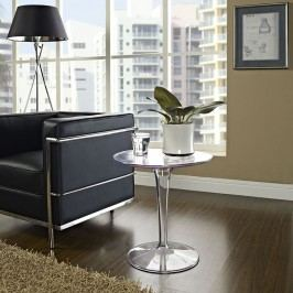 Canvas Side Table in Clear