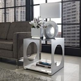 Surpass Side Table in White