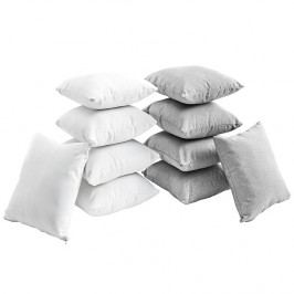 Gather Ten Piece Pillow Set in White Gray