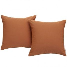 Summon 2 Piece Outdoor Patio Pillow Set in Tuscan