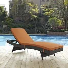 Sojourn Outdoor Patio Sunbrella?? Chaise in Canvas Tuscan