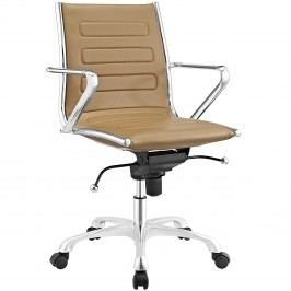 Ascend Mid Back Office Chair in Tan