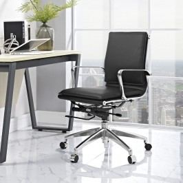 Sage Mid Back Office Chair in Black