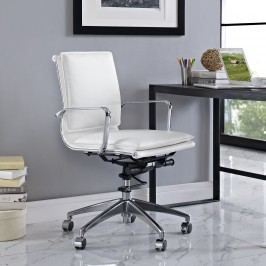 Sage Mid Back Office Chair in White