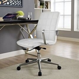 Tile Office Chair in White
