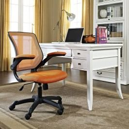 Veer Mesh Office Chair in Orange