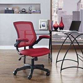 Veer Mesh Office Chair in Red