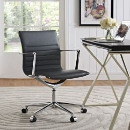 Vi Mid Back Office Chair in Gray