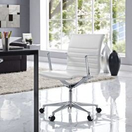 Vi Mid Back Office Chair in White
