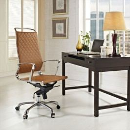 Vibe Highback Office Chair in Tan