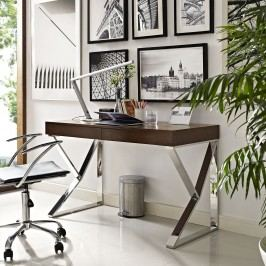 Adjacent Desk in Brown