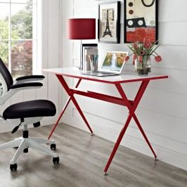 Expound Office Desk in Red
