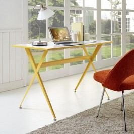 Expound Office Desk in Yellow