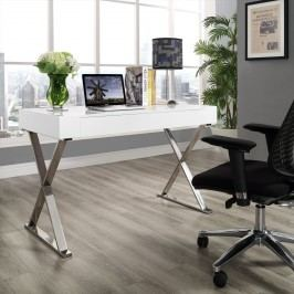 Sector Office Desk in White