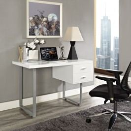 Turn Office Desk in White