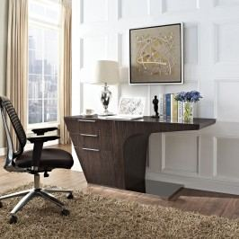 Warp Office Desk in Walnut