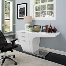 Warp Office Desk in White