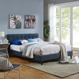 Linnea Full Bed in Azure