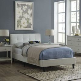 Linnea Twin Bed Frame in White