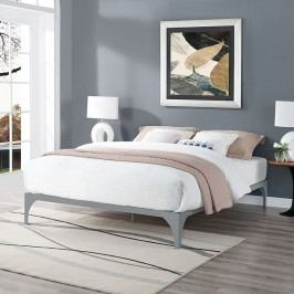 Ollie King Bed Frame in Gray