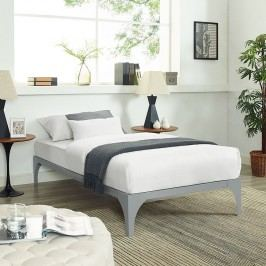 Ollie Twin Bed Frame in Gray