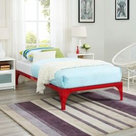Ollie Twin Bed Frame in Red