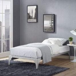 Ollie Twin Bed Frame in Silver