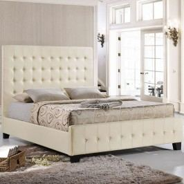 Skye Queen Bed in Ivory