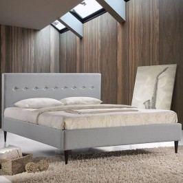 Stacy King Bed in Sky Gray
