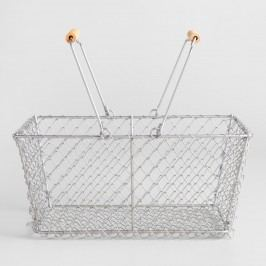 Rectangular Galvanized Wire Basket by World Market