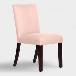 Linen Kerri Upholstered Dining Chair - Fabric - Cindersmoke by World Market Cindersmoke