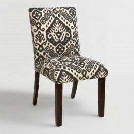 Charcoal Safi Kerri Upholstered Dining Chair: Gray - Fabric by World Market