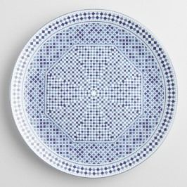 Blue Fez Tile Dinner Plates Set of 4 by World Market