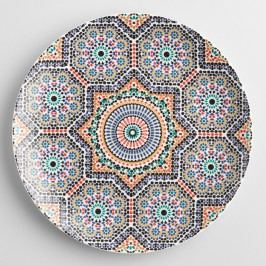 Fez Moroccan Tile Dinner Plates Set of 4 by World Market