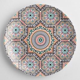 Fez Moroccan Tile Salad Plates Set of 4 by World Market