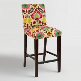Desert Santa Maria Kerri Upholstered Barstool: Multi - Fabric by World Market