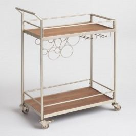Metal and Wood Geneva Bar Cart by World Market