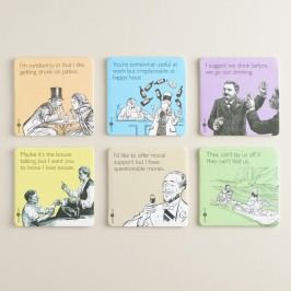 Someecards Censored Coasters 6 Pack by World Market