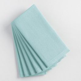 Stone Blue Buffet Napkins Set of 6 by World Market