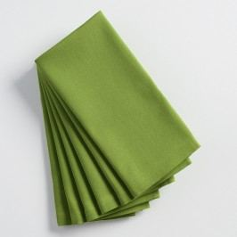 Olivine Green Buffet Napkins Set of 6 by World Market