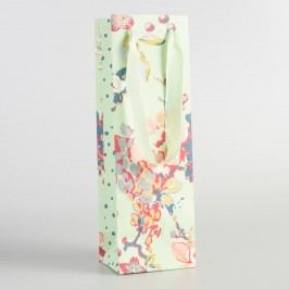 Grace Floral Handmade Wine Bags Set of 2 by World Market