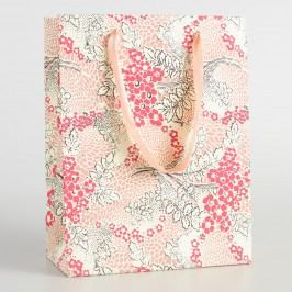 Large Pink Matilda Handmade Gift Bag by World Market