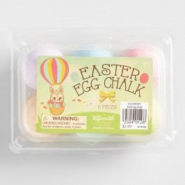 Easter Egg Sidewalk Chalk Set of 2 by World Market