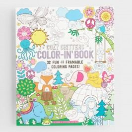 Cozy Critters Coloring Book by World Market
