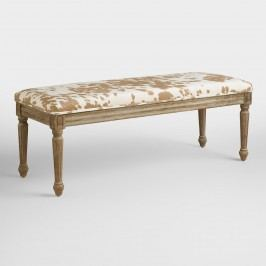 Palomino Velvet Paige Dining Bench - Fabric by World Market