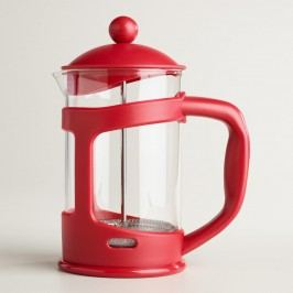 Red 3 Cup French Press by World Market